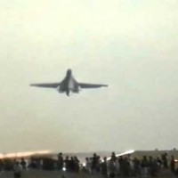 B-1B blows away the spotters