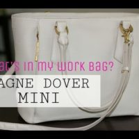 Dagne Dover Mini | What's in my work bag?